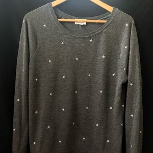 David Lerner Sweaters - Studio by David Learner star embroidered sweater